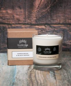 Sandalwood & Black Pepper Candle