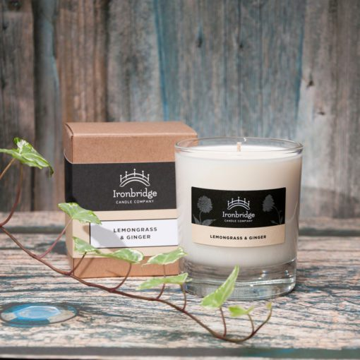 Lemongrass & Ginger Scented Candle