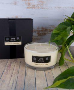 Gingerlily & Ylang-Ylang 3-Wick Candle