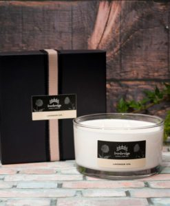 Lavender Spa Scented 3-Wick Candle