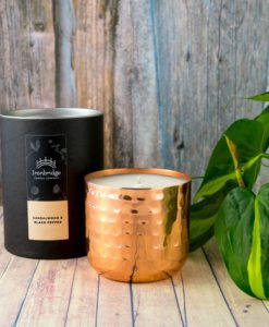 Sandalwood & Black Pepper Candle - Copper