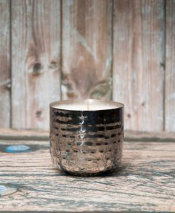 Lemongrass & Ginger Candle - Silver Dimple