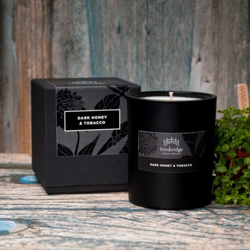 Dark Honey & Tobacco Luxury Candle