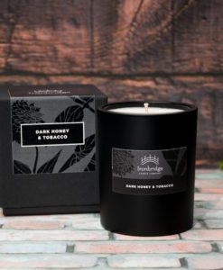 Dark Honey & Tobacco Luxury Candle