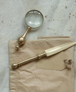 Emmet Brass Letter Opener