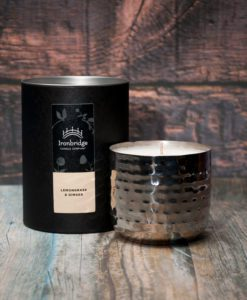 Lemongrass & Ginger Candle - Black Nickel