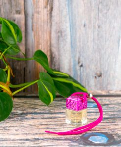 Lemongrass & Ginger Car Diffuser - Pink