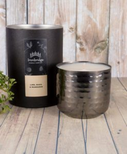 Lime, Basil and Mandarin Candle - Nickel