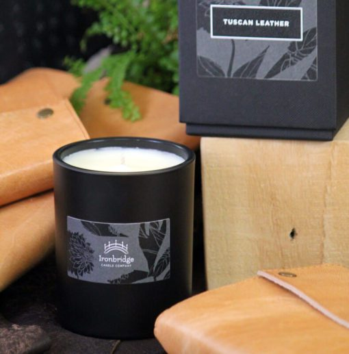 Tuscan Leather Luxury Candle