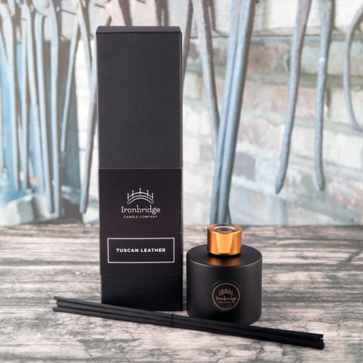 Tuscan Leather Reed Diffuser