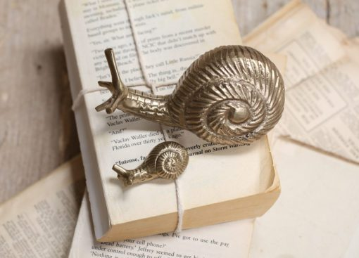 Snail Paper Weight