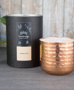 Cassis and Fig Candle - Copper Dimple