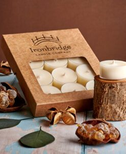 Frankincense & Myrrh Tea Lights (Pack of 12)