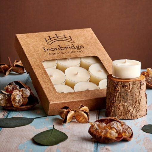 Frankincense & Myrrh Tea Lights (Pack of 12)