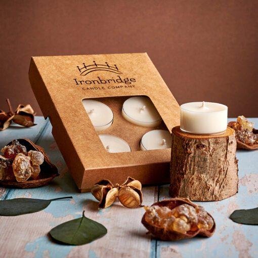 Frankincense & Myrrh Tea Lights (Pack of 6)