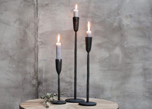Mbata Brass Candlestick