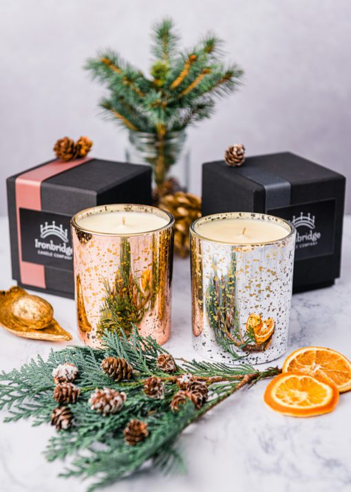 Spiced Orange Scented Candle
