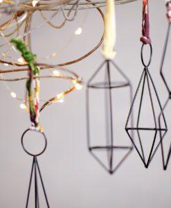 Tajara Wire Decoration - Antique Black