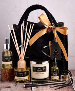 Luxury Home Fragrance Gift Bag (Black)