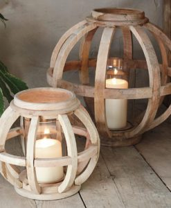 Kabu Wooden Lantern