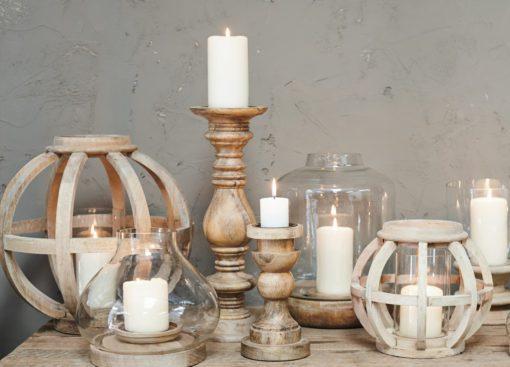 Kabu Wooden Lantern Range