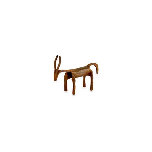 Basanti Brass Deer - Antique Brass