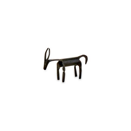 Basanti Brass Deer - Antique Black