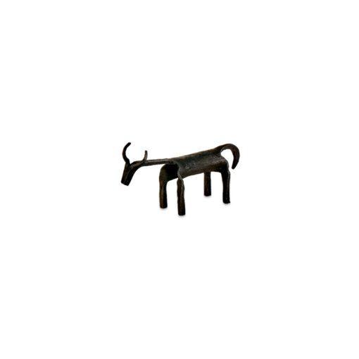 Basanti Brass Cow - Antique Black