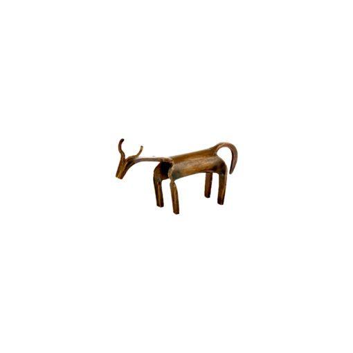 Basanti Brass Cow - Antique Brass