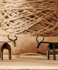 Basanti Brass Cow