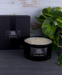 Dark Honey & Tobacco 3-Wick Candle