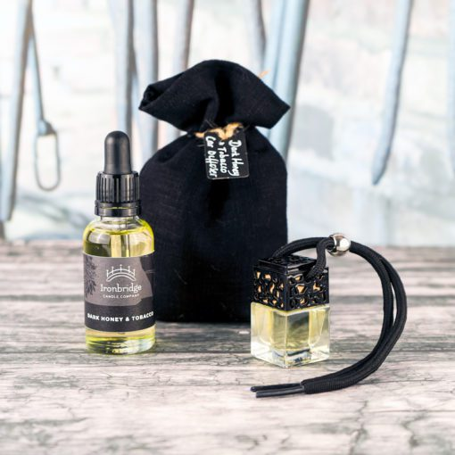 Dark Honey & Tobacco Car Diffuser