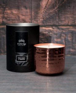Dark Honey & Tobacco Candle - Copper