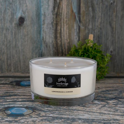 Lemongrass & Ginger 3-Wick Candle