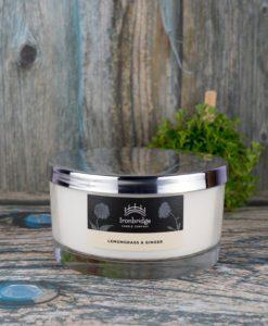 Lemongrass & Ginger 3-Wick Candle
