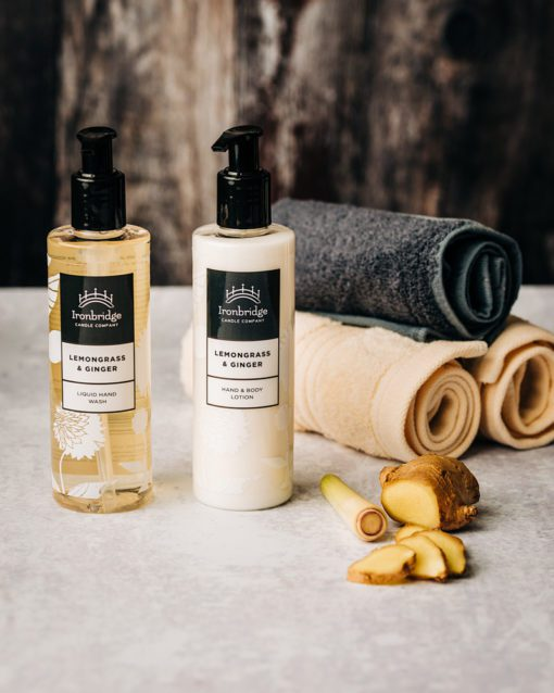 Lemongrass & Ginger Soap & Lotions