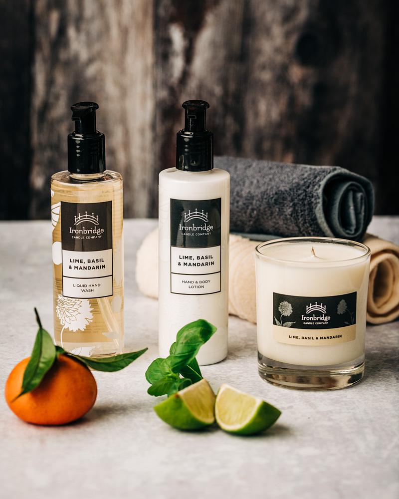 Lime, Basil & Mandarin Soap & Lotion