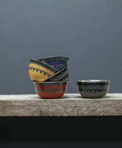 Satara Hand Painted Bowl