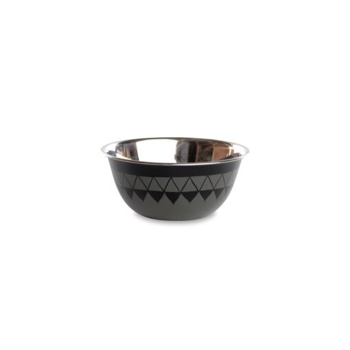 Satara Hand Painted Bowl - Slate