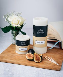 Cassis & Fig Pillar Candle