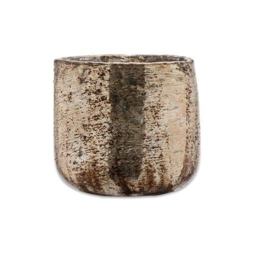 Aban Rustic Tea Light Holder - Gold - Medium
