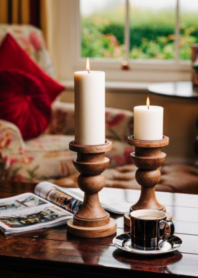 Pillar Candle Room Setting