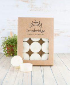 Lemongrass & Ginger Tea Lights (Pack of 12)