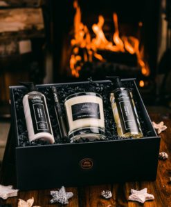 Luxury Gift Set (Pritchard Collection) - Dark Honey & Tobacco