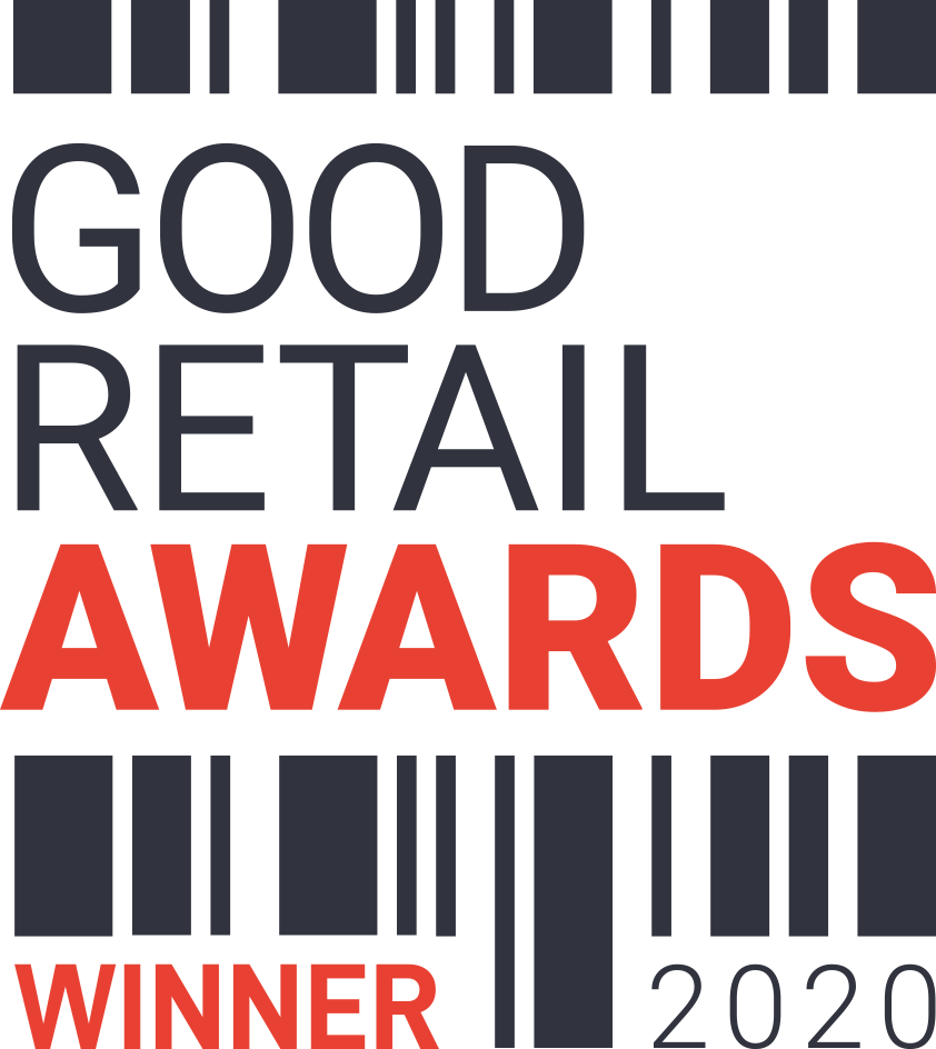 Winner of the Good Retail Awards 2020 Logo