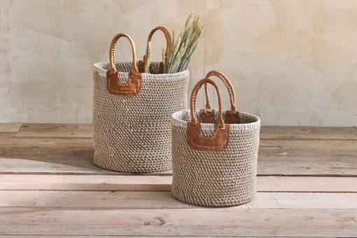 Indra Coil Basket - Natural