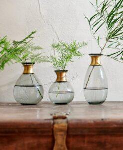 Miza Mini Glass Vase