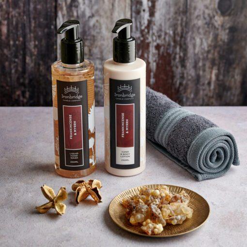 Frankincense & Myrrh Hand & Body Lotion
