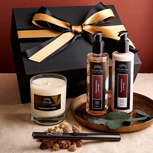 Frankincense & Myrrh Luxury Gift Set (Pritchard Collection)