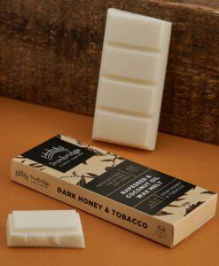 Dark Honey & Tobacco Wax Melt Snap Bar